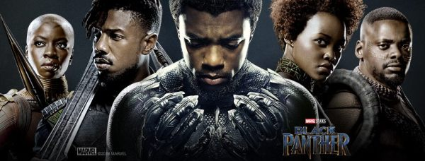 Black Panther, taken from official movie Facebook page.